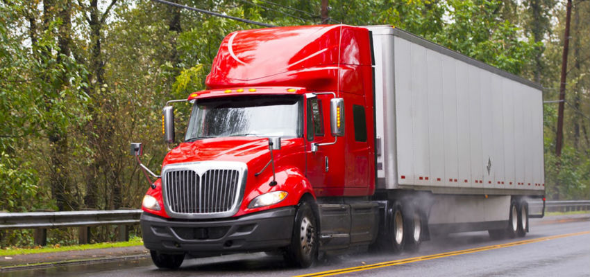 Trucking accident law- self insured